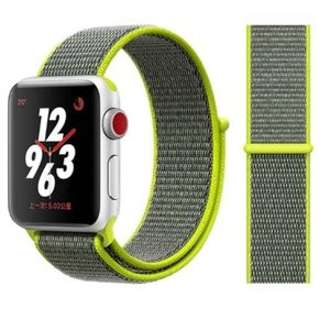 NEW Light Yellow Strap Loop Band For Apple Watch